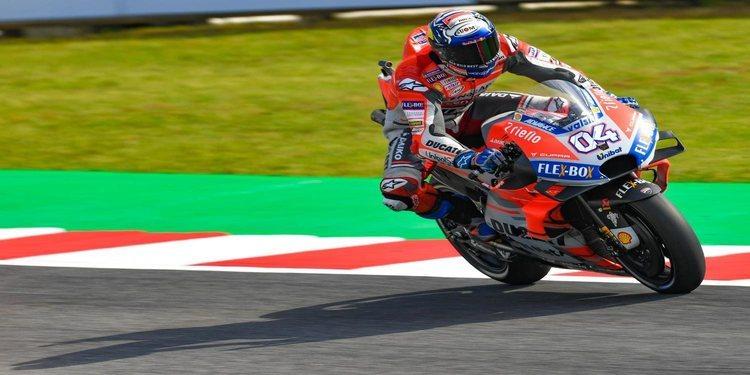 Ducati enseña los dientes en Misano