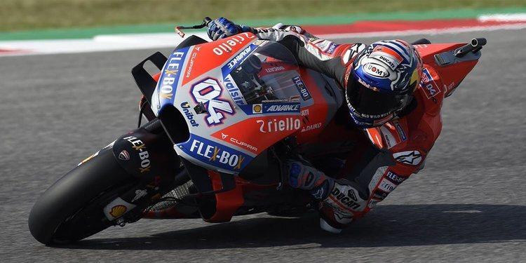 """Andrea Dovizioso: """"Habrá que hacer más tandas en seco de cara a la carrera"""""""