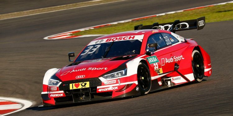 René Rast logra una impresionante pole en Nürburgring