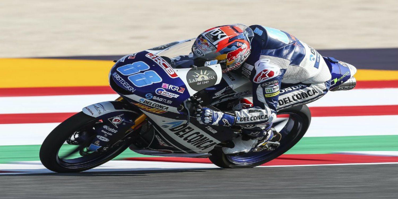 Jorge Martín saldrá desde la pole en San Marino