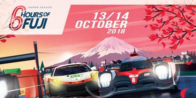 Inscripción provisional para las 6 horas de Fuji