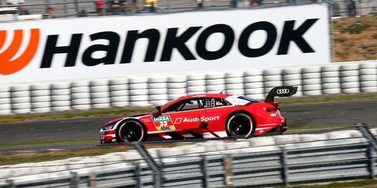 René Rast buscará el pleno en Nürburgring tras su pole para la segunda carrera
