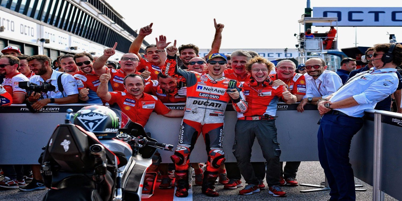 "Claudio Domenicali: ""Hemos entendido mucho sobre la moto gracias a Lorenzo"""