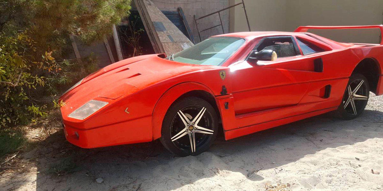 El Nissan disfrazado de Ferrari