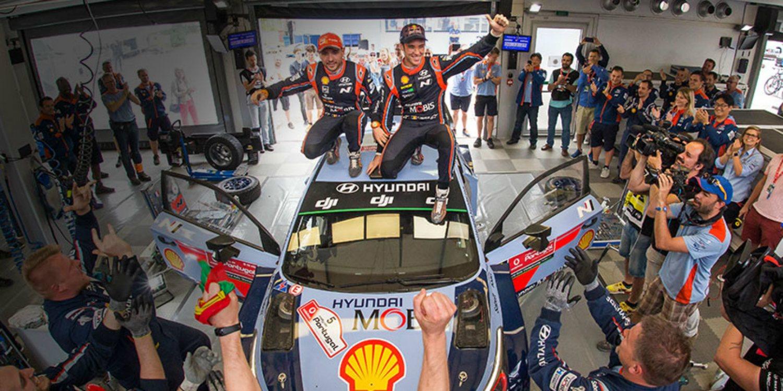 Thierry Neuville renueva por tres temporadas con Hyundai