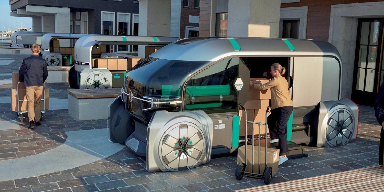 Renault EZ PRO: el repartidor del futuro
