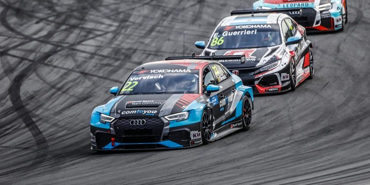 Audi Sport Team Comtoyou antes de la gira asiática del WTCR 2018
