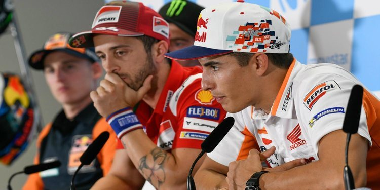 Rueda de prensa del Gran Premio de Aragón 2018