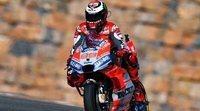 Jorge Lorenzo, suma y sigue: consigue en Aragón su tercera pole consecutiva