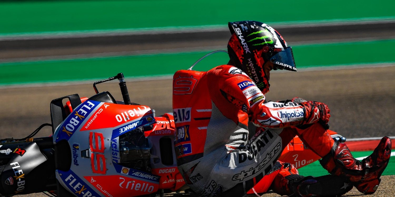 """Jorge Lorenzo: """"Márquez me ha arruinado la carrera, solo espero que me pida disculpas"""""""