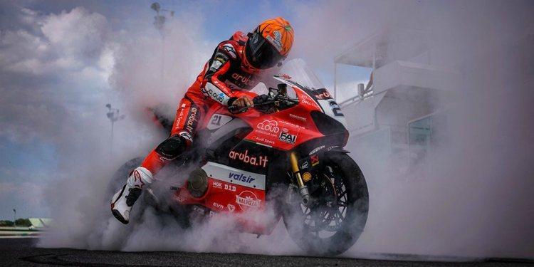 """Entrevista a Michael Rinaldi: """"Mi objetivo es acabar bien las dos últimas carreras"""""""