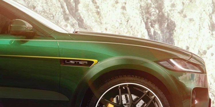 Lister LFP el SUV más rápido y potente de todos