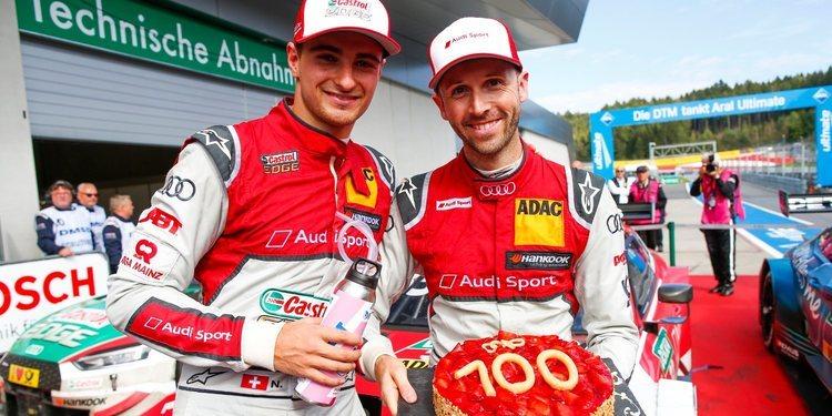 Audi y René Rast escriben dos récords en el DTM
