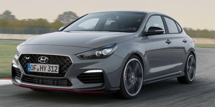 Hyundai anunció el i30 Fastback N 2019 al Salón de París