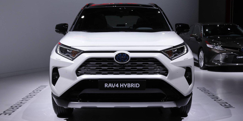Toyota se presenta con el RAV4 Hybrid 2019