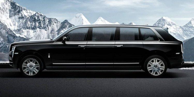 La increíble limusina blindada Rolls-Royce Cullinan