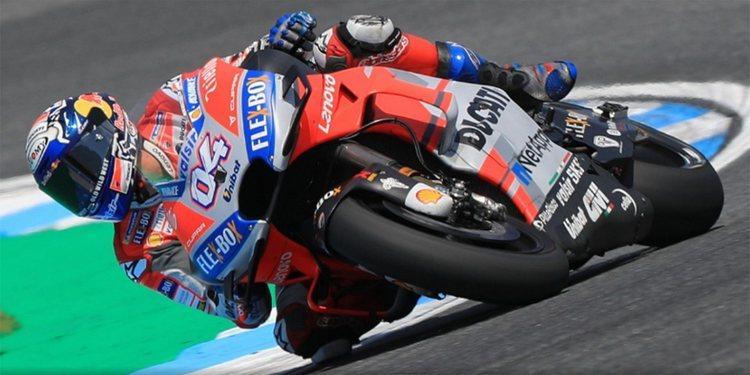 Dovi manda, Lorenzo cae y Yamaha mejora en la sesión del viernes