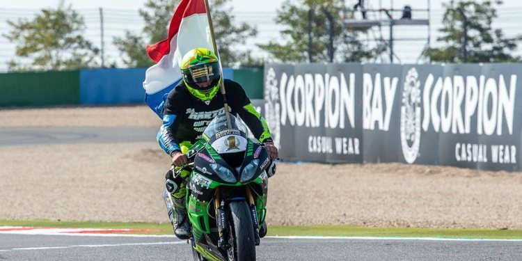 Rob Hartog, campeón de Europa de Supersport