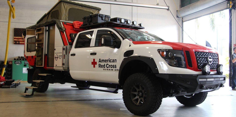 Nissan presentó el poderoso Ultimate Service Titan Deploys