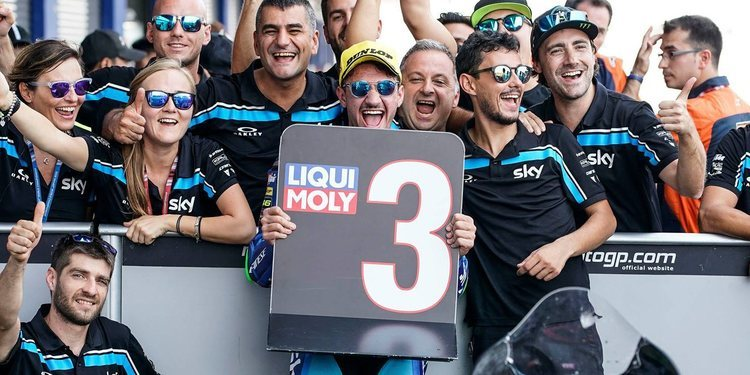 """Dennis Foggia: """"El primer podio es especial, nunca nos rendimos"""""""