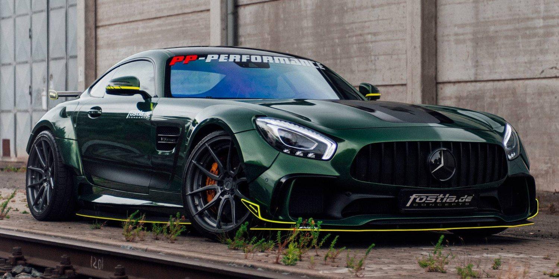 Mercedes-AMG GT por Fostla