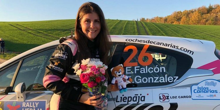 Emma Falcón, campeona del ERC Ladies Trophy