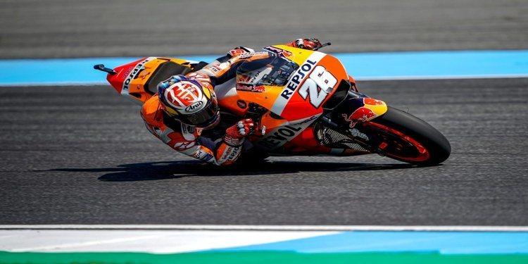 """Dani Pedrosa: """"Espero continuar con el progreso de las últimas carreras"""""""