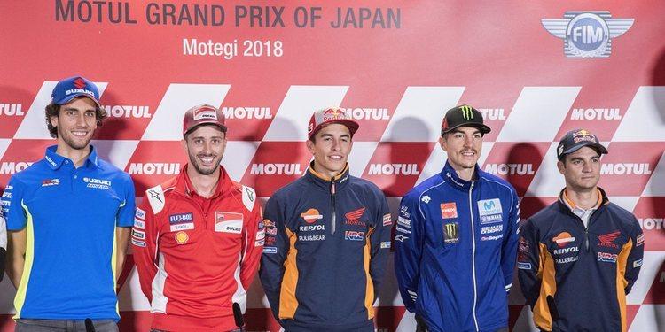 Rueda de prensa del Gran Premio de Japón 2018