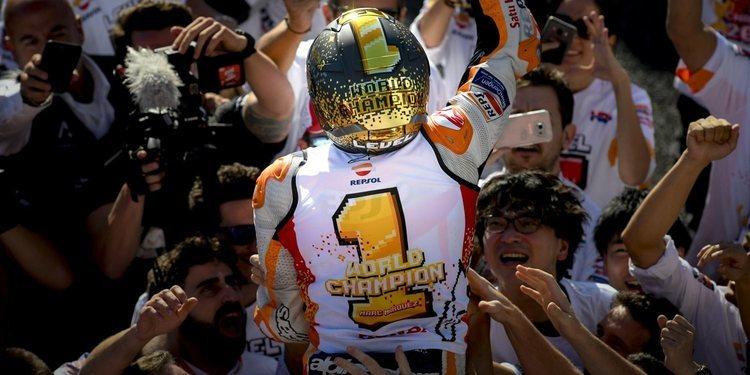 Victoria y 7º mundial para Marc Márquez