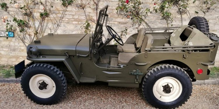 A la venta Jeep Willys de Steve McQueen