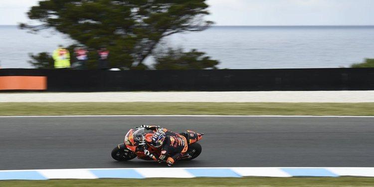 Binder y Schrotter dominan en la sesión del viernes de Moto2