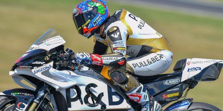 "Karel Abraham: ""La moto se mueve mucho en la recta"""