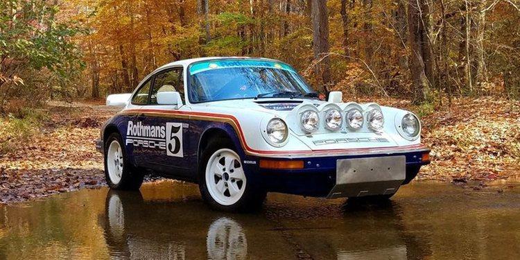 La réplica del Porsche 911 SCRS Rothmans Safari de 1963