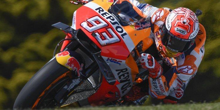 Marc Márquez no baja el ritmo y consigue su quinta pole consecutiva en Australia