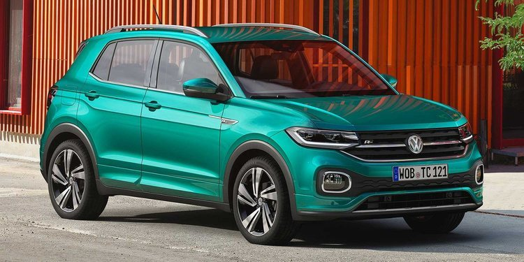 Ya tenemos imágenes reales del nuevo SUV T-Cross de Volkswagen