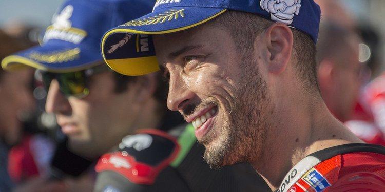 """Andrea Dovizioso: """"El resultado ha sido mejor de lo previsto"""""""