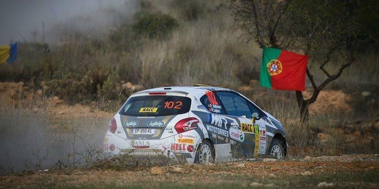 Antunes vence en Cataluña y la Peugeot Rally Cup Ibérica se aprieta