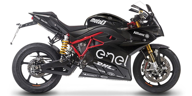 Te presentamos la nueva Energica Ego Sport Black 2019