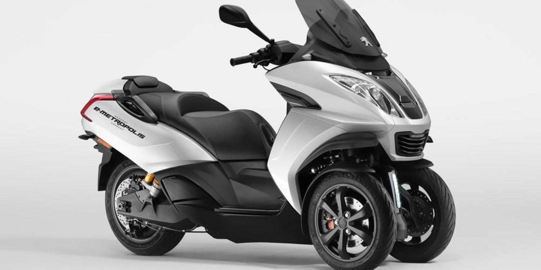 Llega la nueva Peugeot E-Metropolis 2019