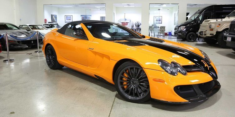 A la venta un poderoso McLaren Mercedes SLR 722S Roadster