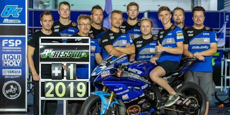 Loris Cresson renueva con el Kallio Racing