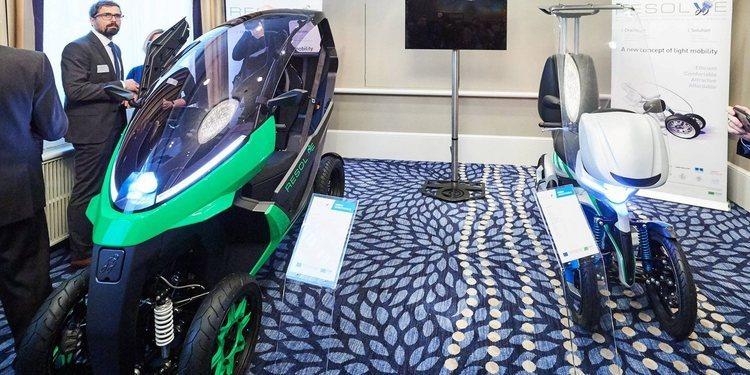 El Proyecto RESOLVE presenta sus prototipos eléctricos