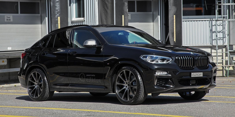 El BMW X4 de Dahler