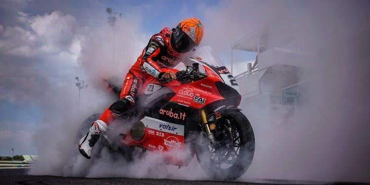 Michael Rinaldi con Barni Racing en 2019