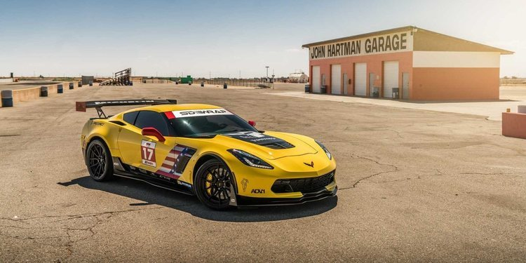 El Chevrolet Corvette Z06 de Speed Society
