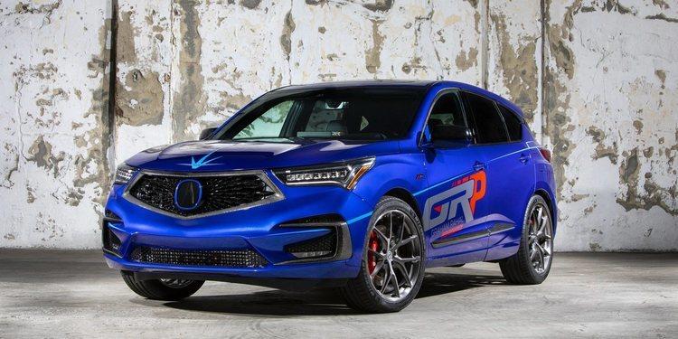 Presentado el Acura RDX A-Spec 2019 by GRP