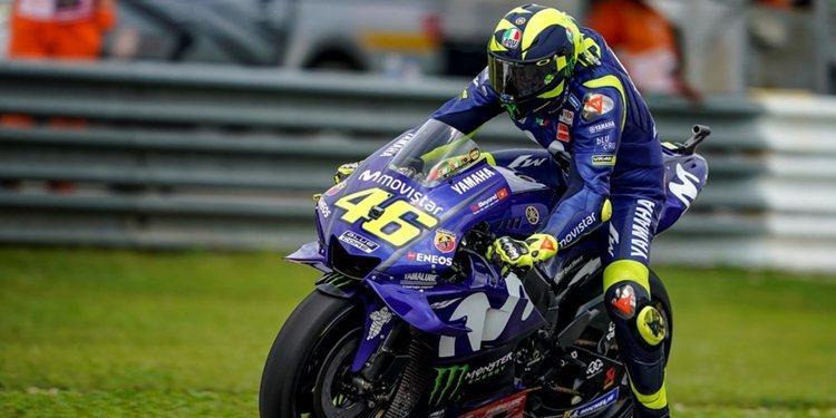 """Valentino Rossi: """"Valencia no es un circuito en el que somos rápidos"""""""