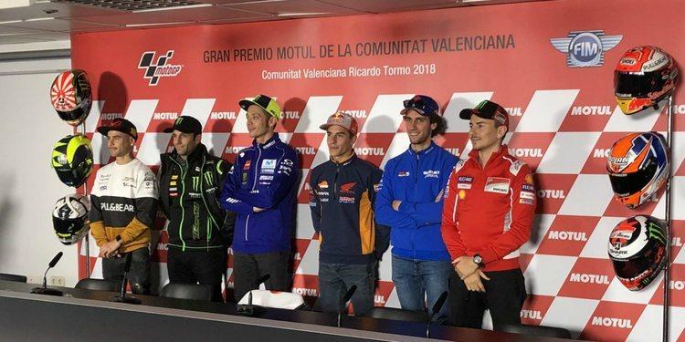 Rueda de prensa del Gran Premio de la Com. Valenciana 2018