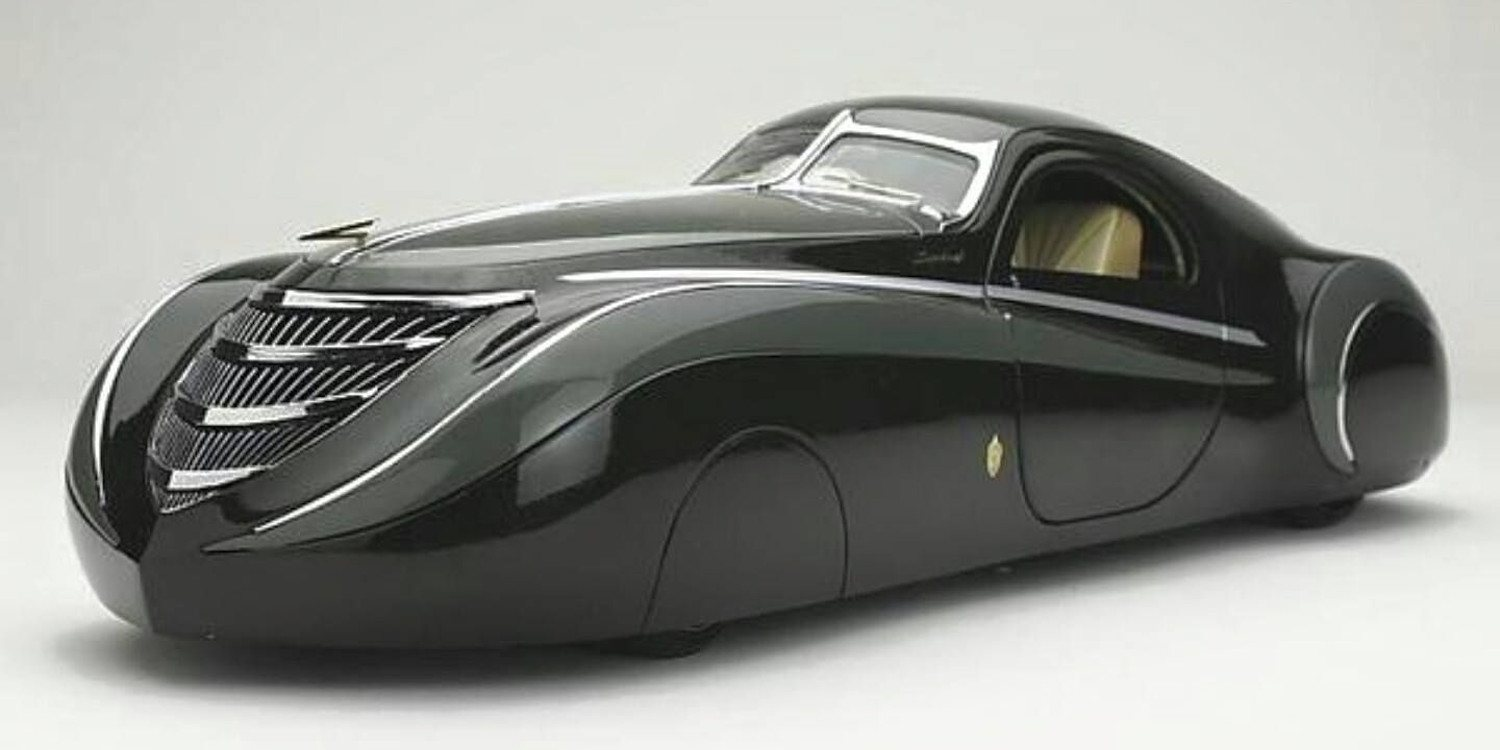 El Duesenberg Coupe Simone Midnight Ghost 1939