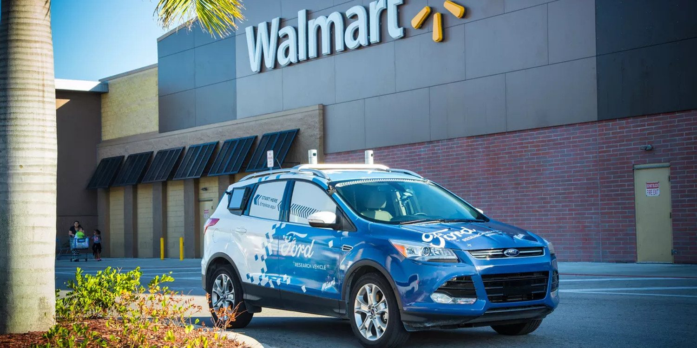 Ford y Walmart usarán coches autónomos para entregas